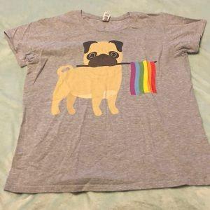Pride Pug T-Shirt